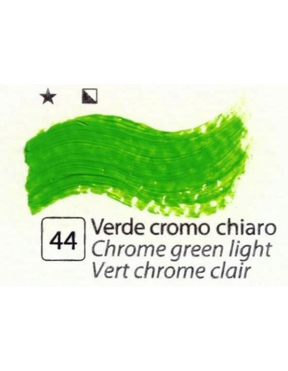 COLORI AD OLIO Serie Accademia N.44 VERDE CROMO CHIARO