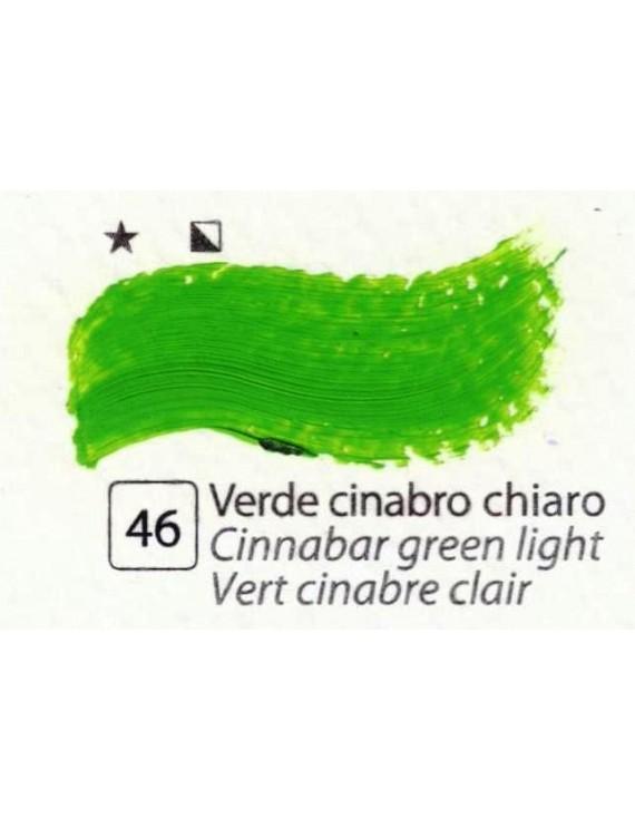 COLORI AD OLIO Serie Accademia N.46 VERDE CINABRO CHIARO