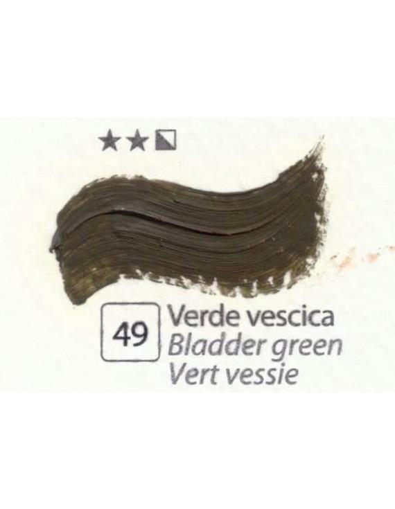 COLORI AD OLIO Serie Accademia N.49 VERDE VESCICA