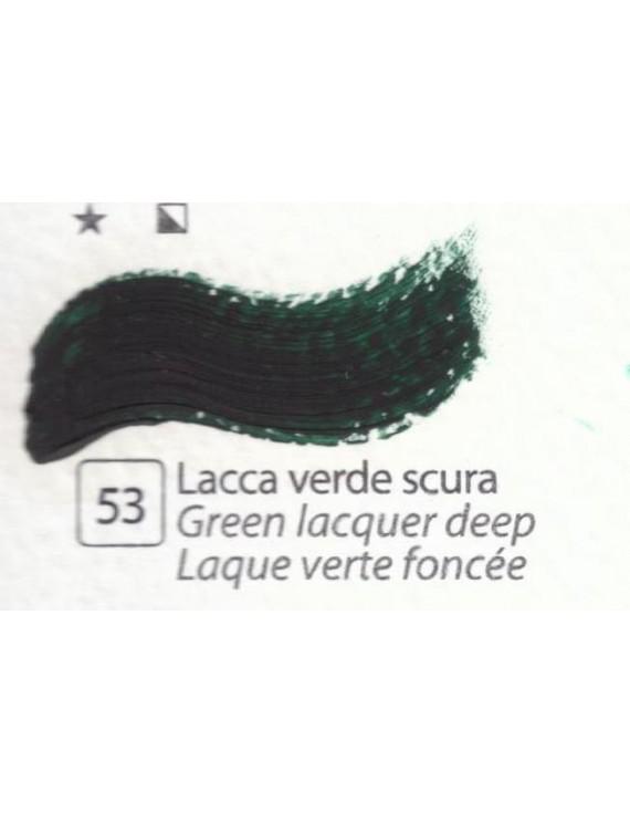 COLORE A OLIO ACCADEMIA   N.53 VERDE PERMANENTE