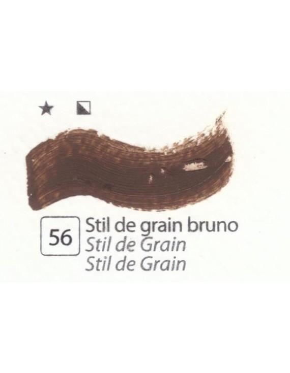 COLORI AD OLIO Serie Accademia N.56 STIL DE GRAIN BRUNO