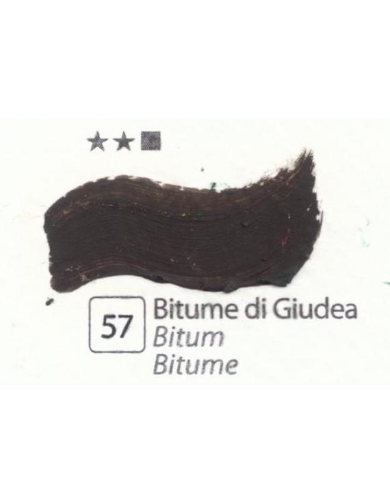 COLORI AD OLIO Serie Accademia N.57 BITUME DI GIUDEA