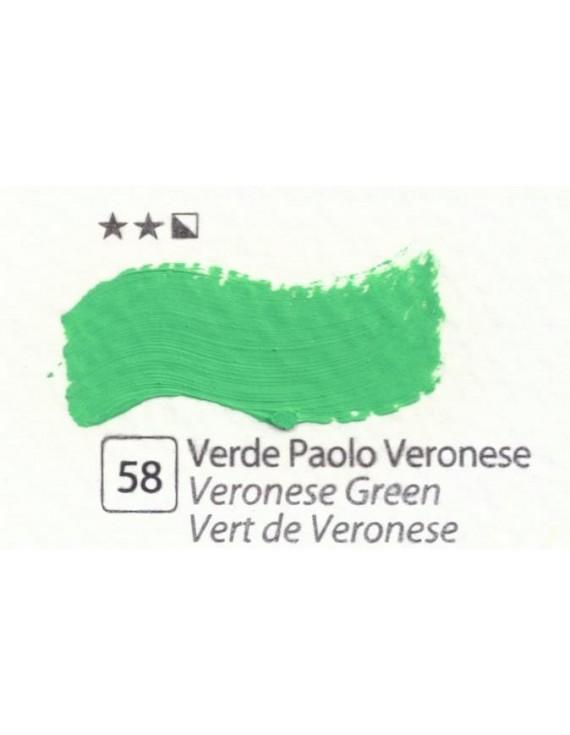 COLORI AD OLIO Serie Accademia N.58 VERDE PAOLO VERONESE