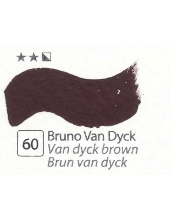 COLORI AD OLIO Serie Accademia N.60 BRUNO VAN DICK