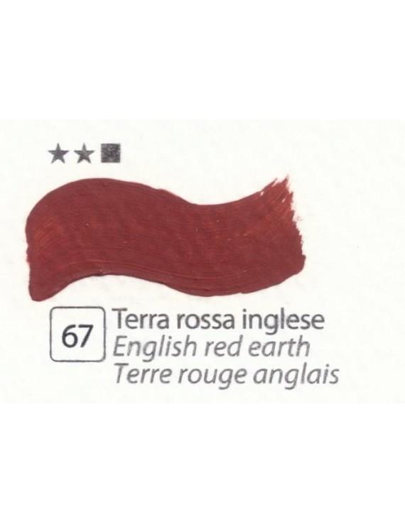 COLORI AD OLIO Serie Accademia N.67 TERRA ROSSA INGLESE