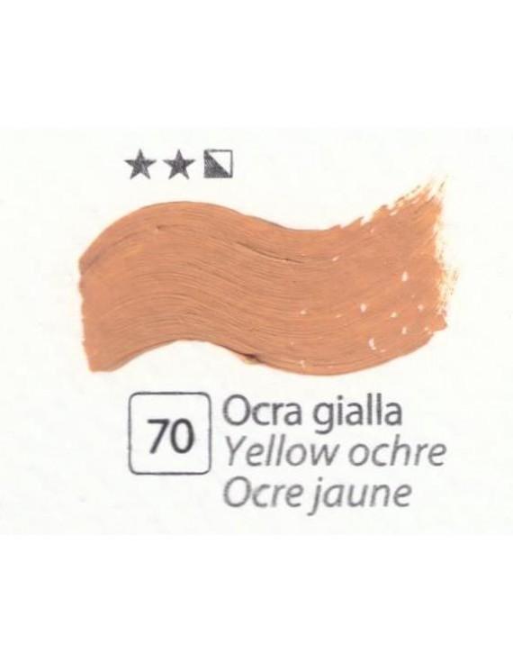 COLORE A OLIO Serie Accademia N.70 OCRA GIALLA