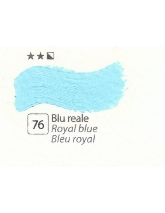 COLORE A OLIO Serie Accademia N. 76 BLU REALE