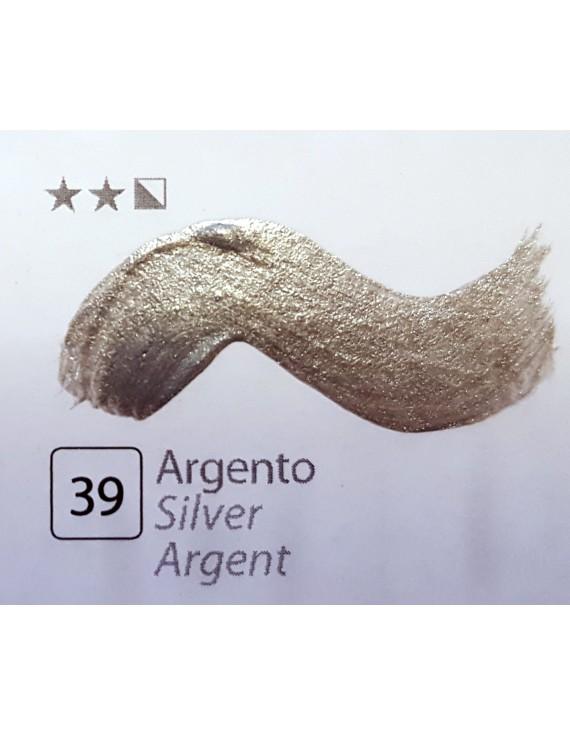 TEMPERA FINISSIMA ml.20 ARGENTO