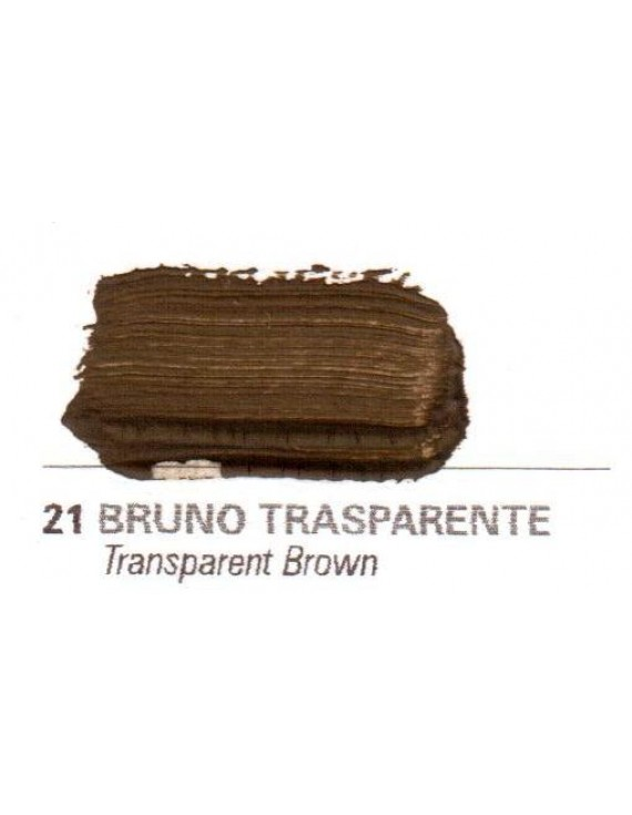 Colori a vernice 35 ml. Bruno trasparente