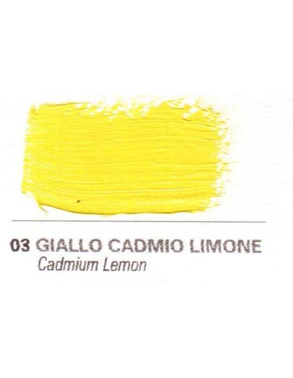 Colori a vernice 35 ml. Giallo cadmio limone