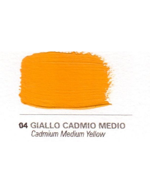 Colori a vernice 35 ml. Giallo cadmio medio