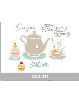 STENCIL  CM 21 X 29,7