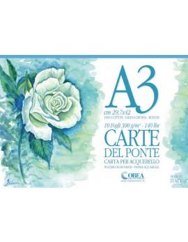 CARTE DEL PONTE, ALBUM DA ACQUERELLO A3