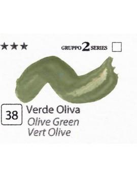 Acquerelli Porto Azzurro ml.20 n.38 Verde Oliva