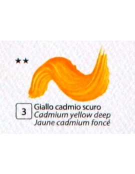COLORE ACRILICO BETACOLOR N. 3 GIALLO CADMIO SCURO