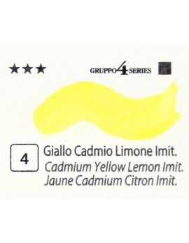 Acquerelli Porto Azzurro ml.20 n.4 Giallo Cadmio Limone imit.