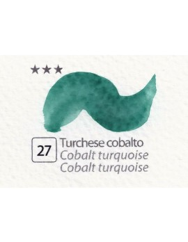 ACQUERELLI  IN GODET 1,5 ML  N.27 TURCHESE COBALTO