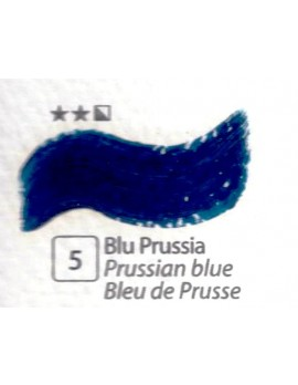 COLORE A OLIO SERIE ACCADEMIA, N.5 BLU DI PRUSSIA