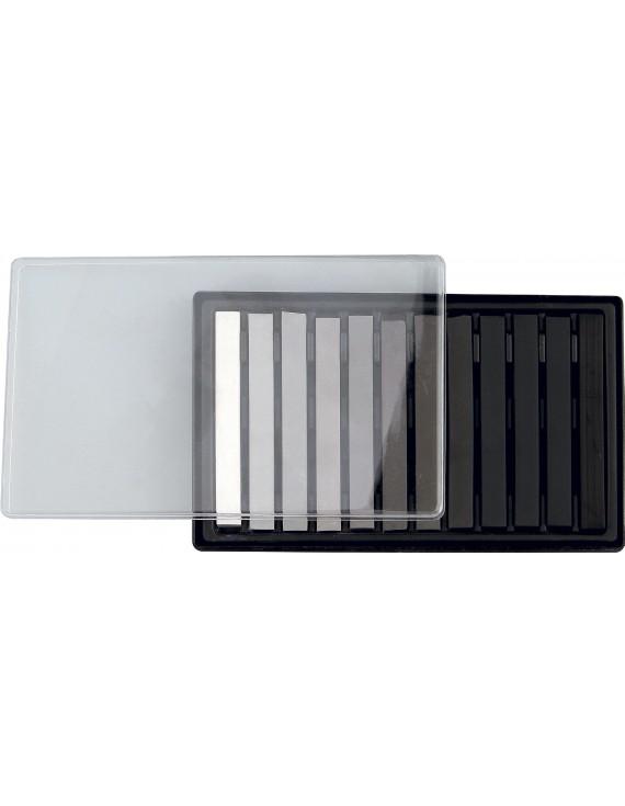 11003 PASTELLI SOFT ASSORTITI Confezione in plastica da 12 pz. 1 pastelli assortiti Gradazione di grigio
