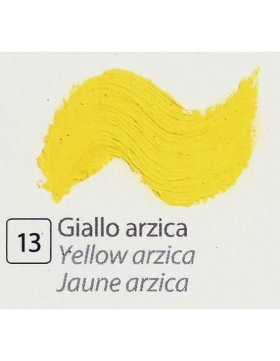 TEMPERA ALL'UOVO  35 ml. GIALLO ARZICA
