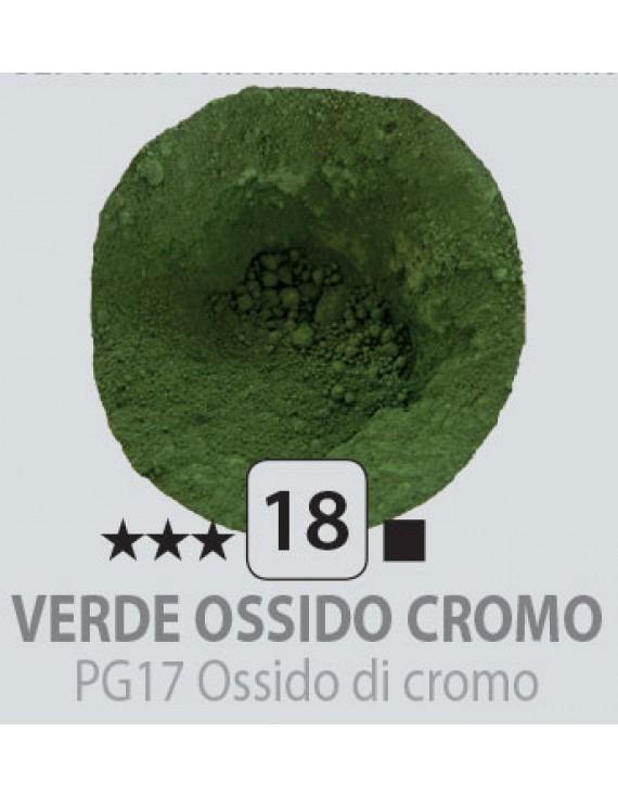 PIGMENTI IN POLVERE 125 ML N.18 VERDE OSSIDO CROMO