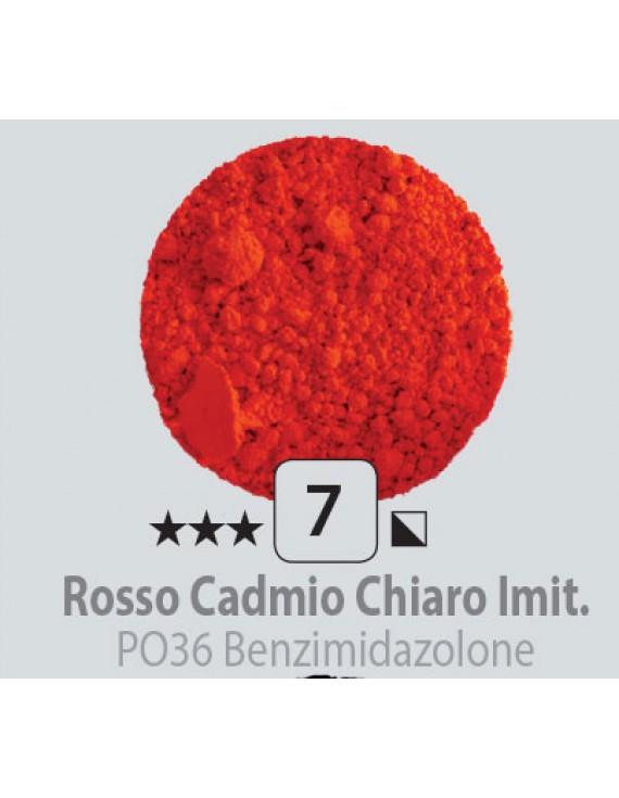 PIGMENTI IN POLVERE 125 ML N.7 ROSSO CADMIO CHIARO IMITAZIONE