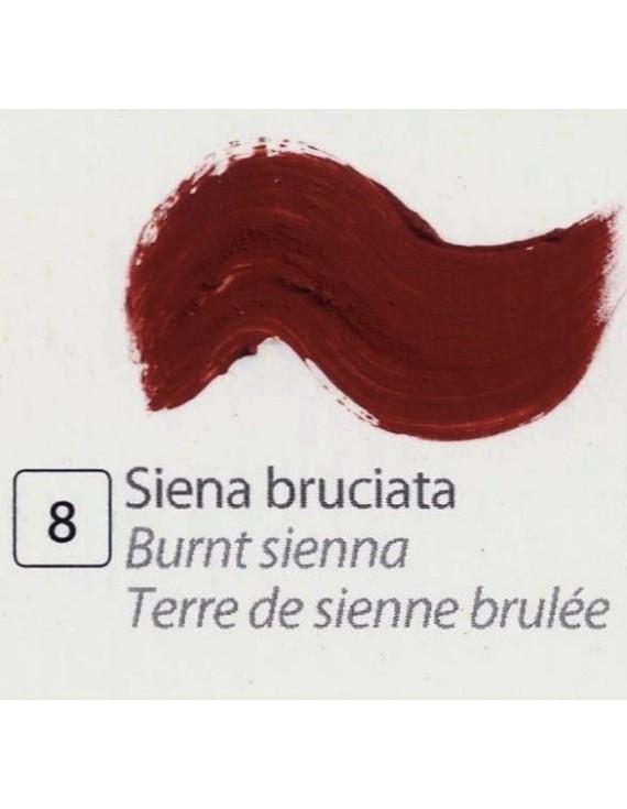 TEMPERA ALL'UOVO  35 ml. SIENA BRUCIATA
