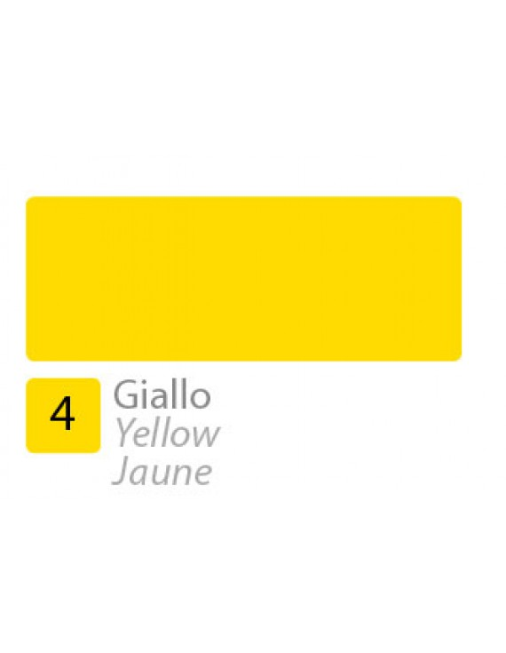 INCHIOSTRO DI CHINA N.4 GIALLO 50ML