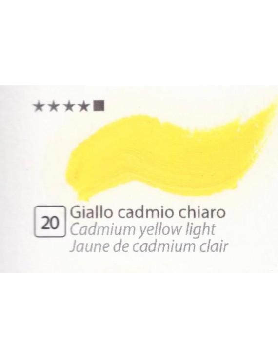 COLORI AD OLIO GOYA 35 ml. GIALLO CADMIO CHIARO