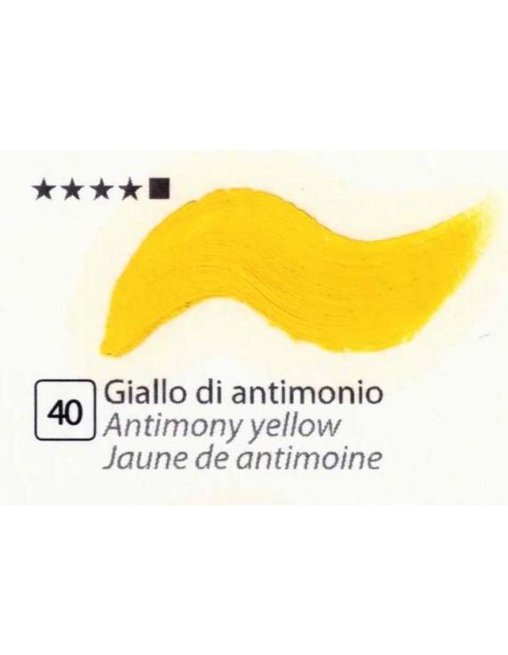 COLORI AD OLIO GOYA 35 ml. GIALLO DI ANTIMONIO