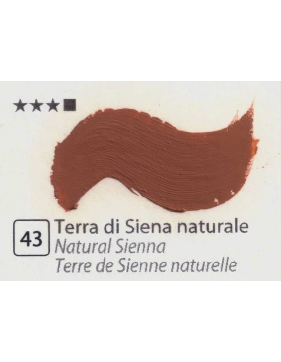 COLORI AD OLIO GOYA 35 ML - TERRA DI SIENA NATURALE