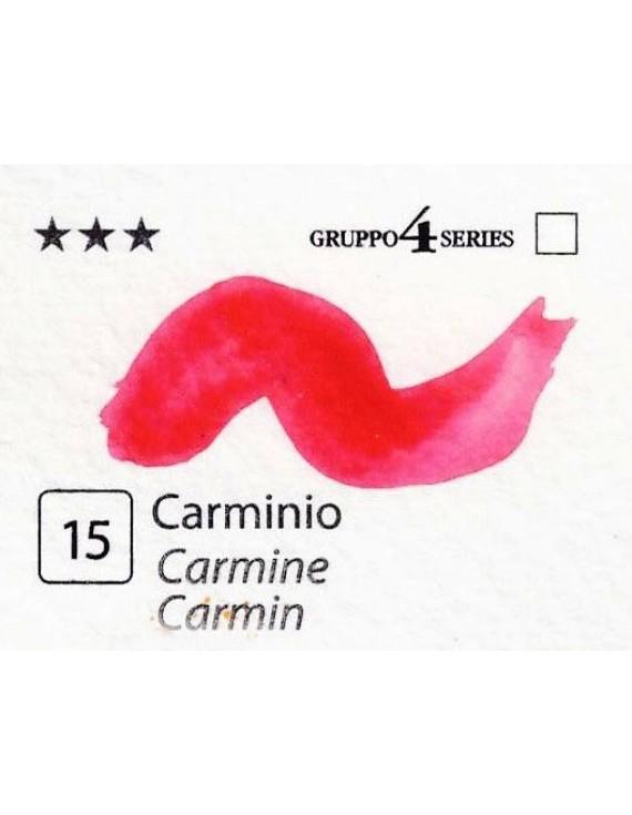 Acquerelli Porto Azzurro ml.20 n.15 Carminio