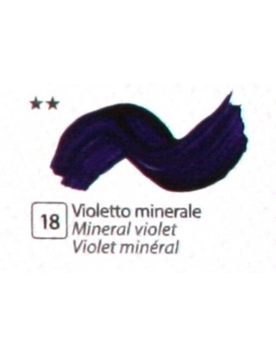 COLORE ACRILICO BETACOLOR ml.125 VIOLETTO MINERALE