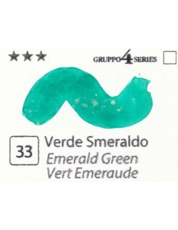Acquerelli Porto Azzurro ml.20 n.33 Verde Smeraldo