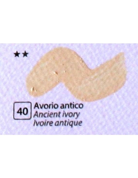 COLORE ACRILICO BETACOLOR ml.125 AVORIO ANTICO