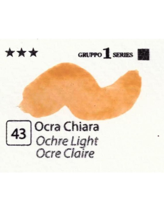 Acquerelli Porto Azzurro ml.20 n.43 Ocra Chiara