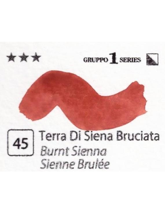 Acquerelli Porto Azzurro ml.20 n.45 Terra di Siena Bruciata