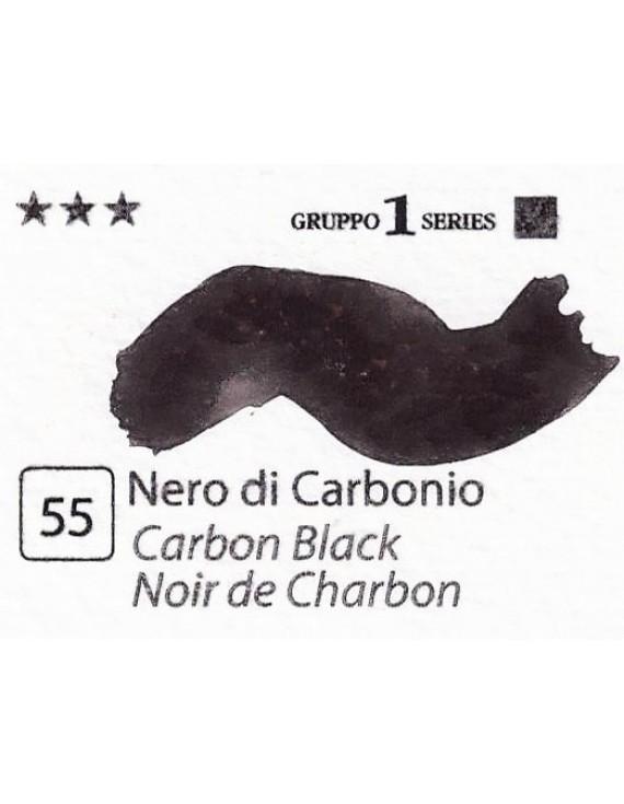 Acquerelli Porto Azzurro ml.20 n.55 Nero di Carbonio