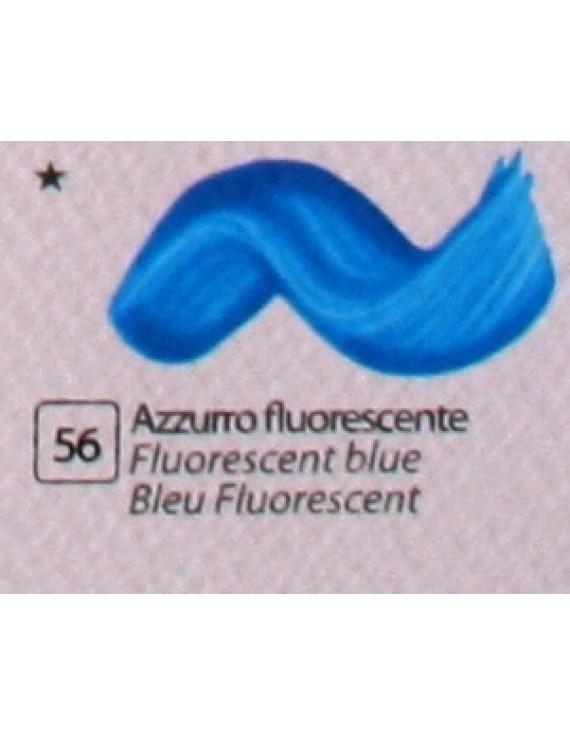 COLORE ACRILICO BETACOLOR ml.125 AZZURRO FLUORESCENTE