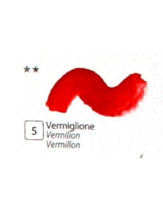 COLORE ACRILICO BETACOLOR N.5 VERMIGLIONE