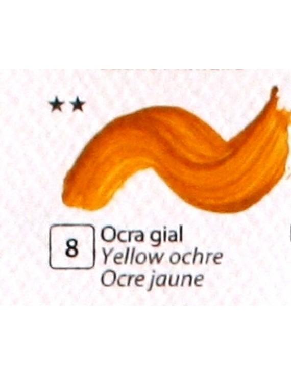 COLORE ACRILICO BETACOLOR  N. 8 OCRA GIALLA