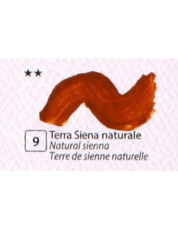 COLORE ACRILICO BETACOLOR N.9 TERRA SIENA NATURALE