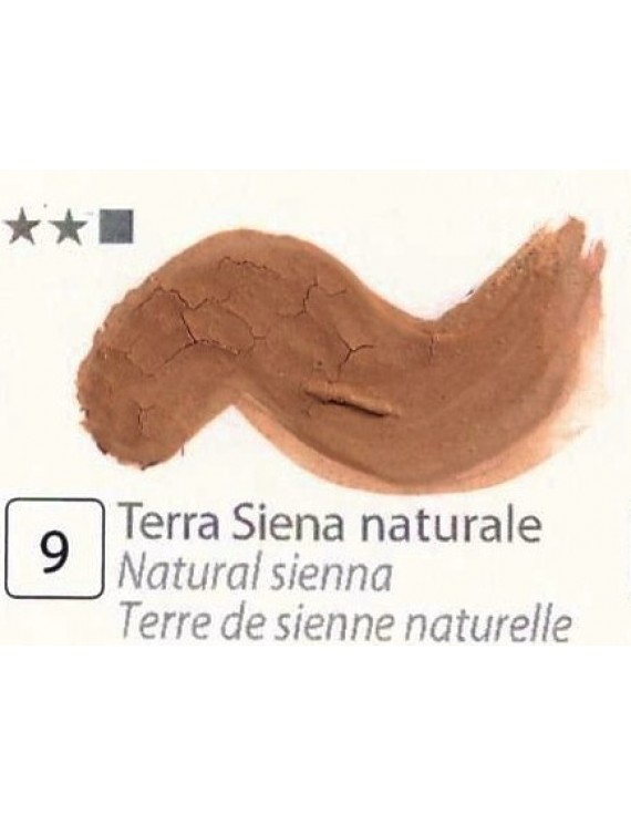 TEMPERA FINISSIMA ml.20 TERRA SIENA NATURALE