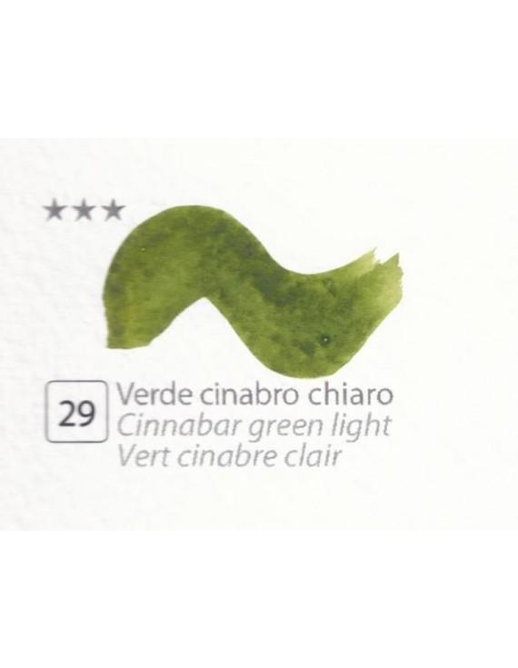 ACQUERELLI  IN GODET 1,5 ML  N.29 VERDE CINABRO CHIARO