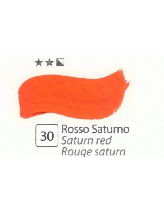 COLORI AD OLIO Serie Accademia N.30 ROSSO SATURNO