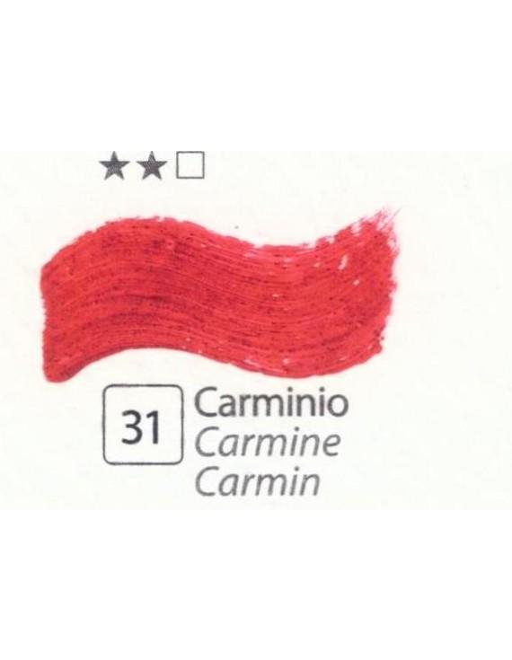 COLORI AD OLIO Serie Accademia N.31 CARMINIO