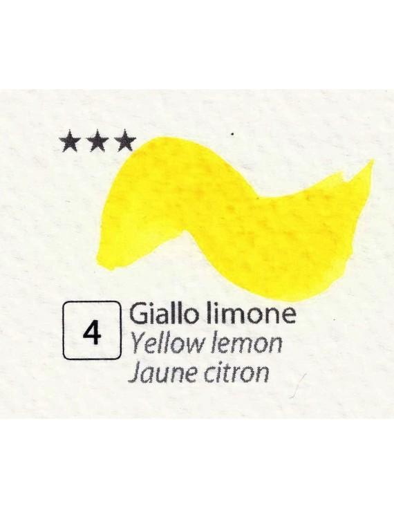 ACQUERELLI  IN GODET 1,5 ML  N.4 GIALLO LIMONE