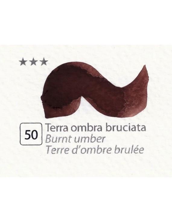 ACQUERELLI  IN GODET 1,5 ML  N.50 TERRA OMBRA BRUCIATA