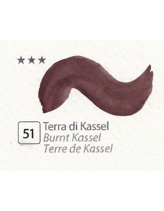 ACQUERELLI  IN GODET 1,5 ML  N.51 TERRA DI KASSEL