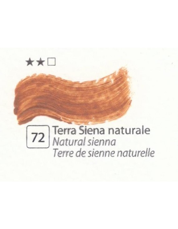 COLORE A OLIO Serie Accademia N.72 TERRA DI SIENA NATURALE